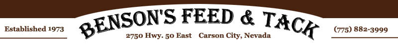Benson's Feed and Tack